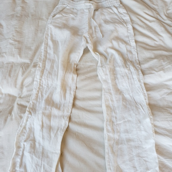 Tommy Bahama Pants - Tommy Bahama Wide Leg Linen Pants